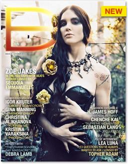Dark Beauty Magazine - Issue 25